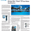"""ChlorKing® Technology Brings New """"Clean"""" to Pool Water Sanitization"""