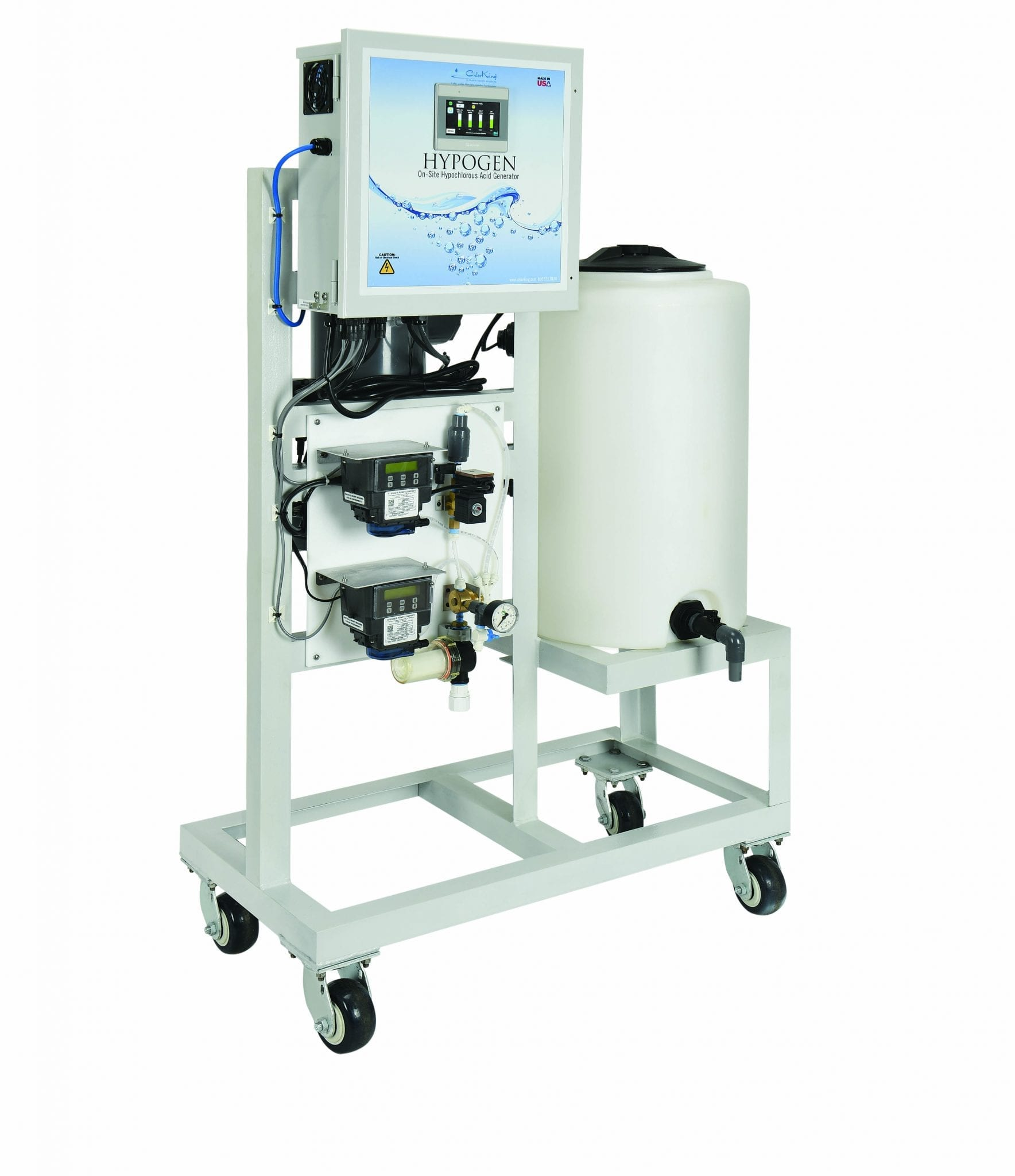 Image: The ChlorKing HYPOGEN hypochlorous acid generator water treatment system - ChlorKing
