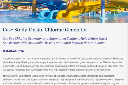 NEX-GENpH Generates Customer Satisfaction - ChlorKing, Inc